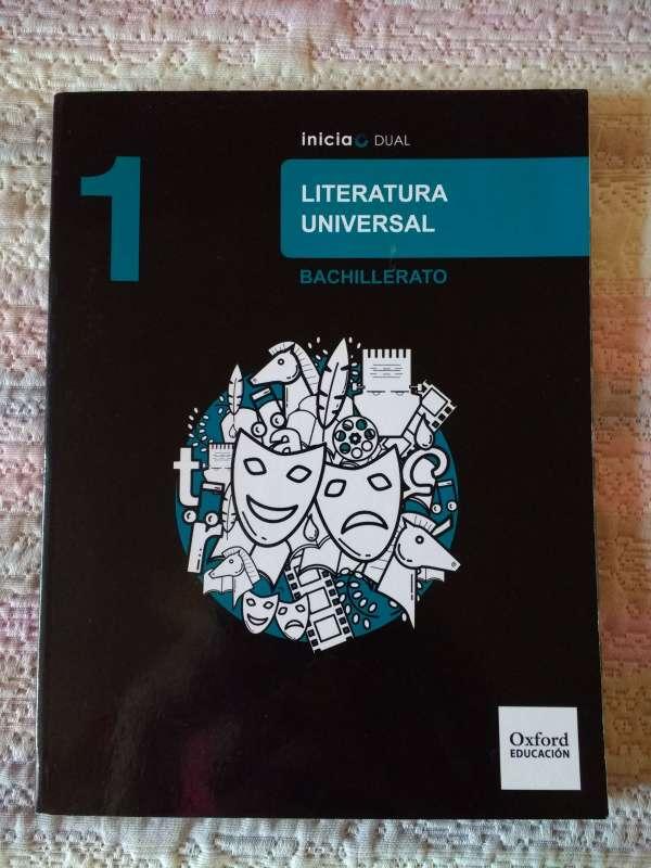Imagen Libro de Literatura Universal