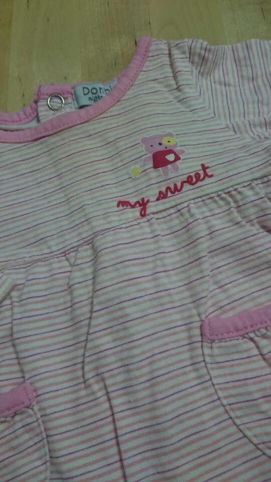 Imagen producto Pijama bebé Corte Inglés rosa 2