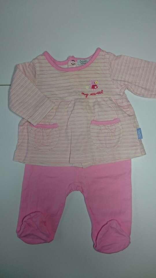 Imagen producto Pijama bebé Corte Inglés rosa 3