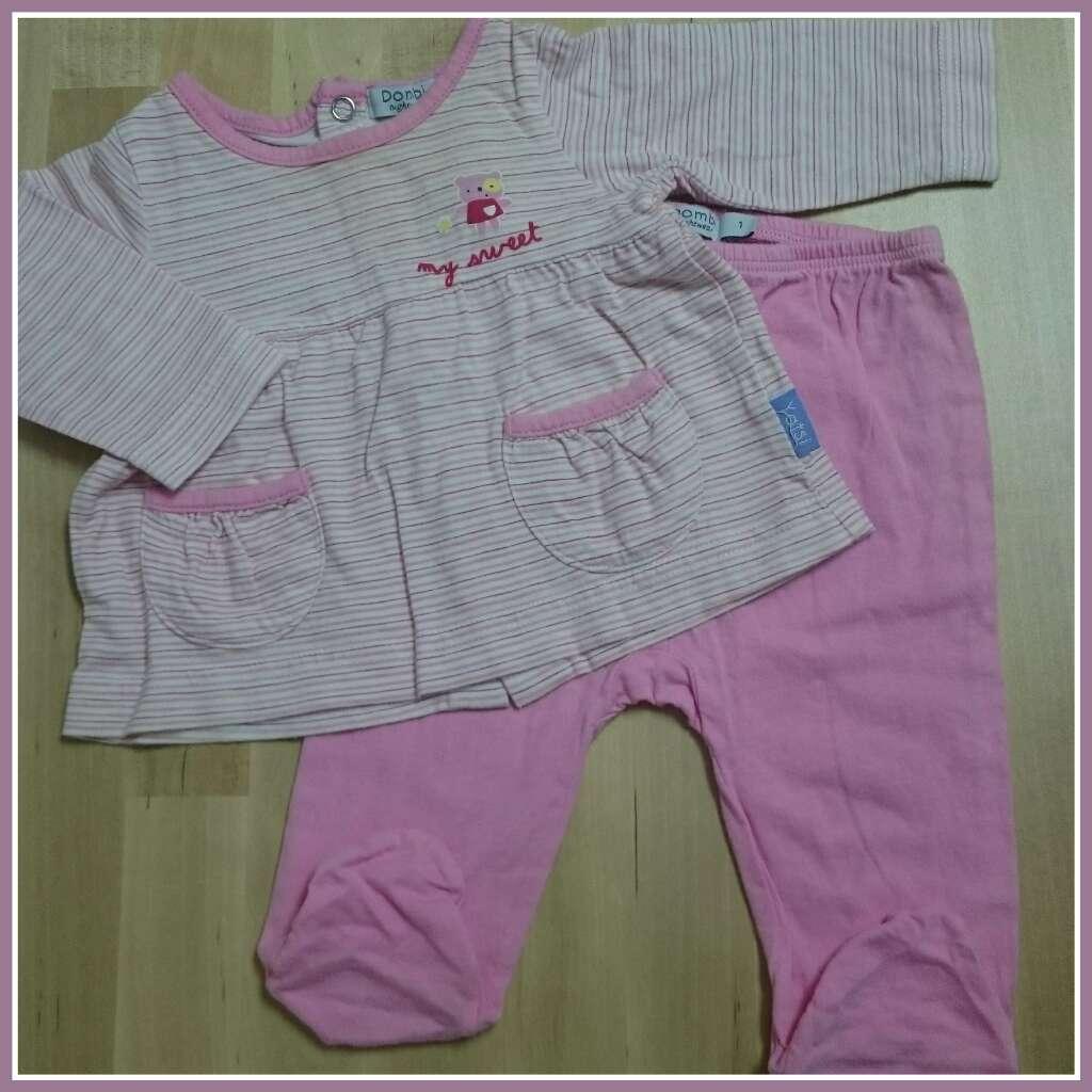 Imagen producto Pijama bebé Corte Inglés rosa 1