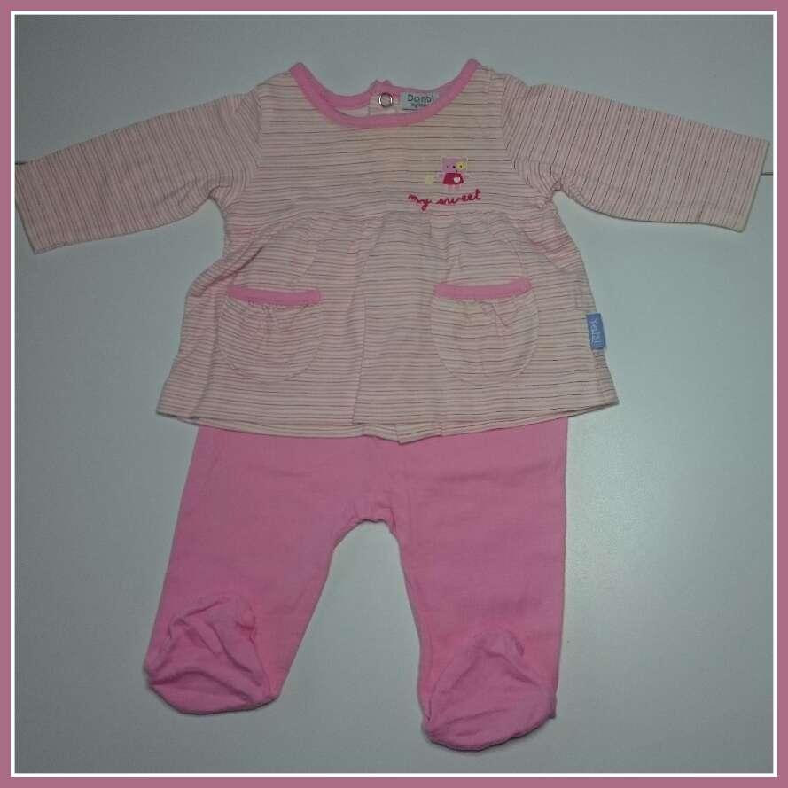 Imagen producto Pijama bebé Corte Inglés rosa 4
