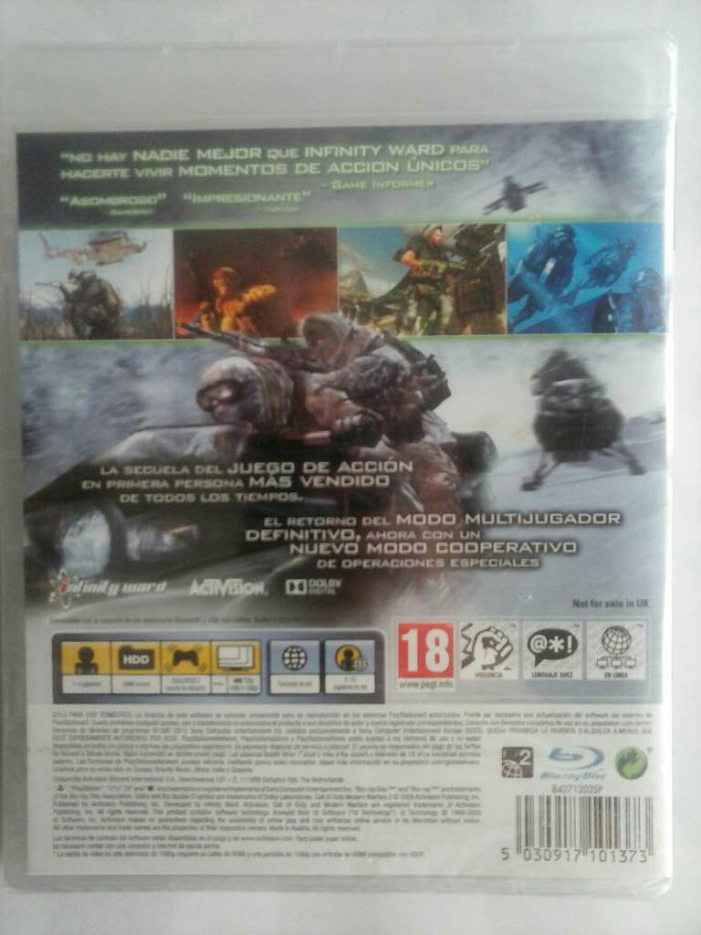 Imagen producto Call of Duty: Modern Warfare 2 3