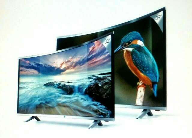 Imagen televisión curvo 32