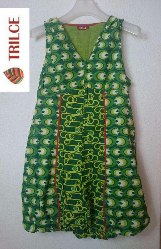 Imagen producto Vestido verde Cuñas Esparto  4