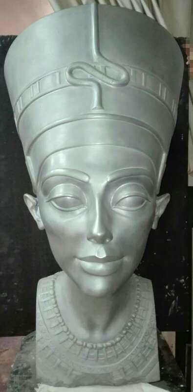 Imagen Busto de Nefertiti