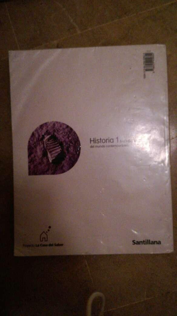 Imagen producto Libro de historia 1° bachillerato ed santillana 2