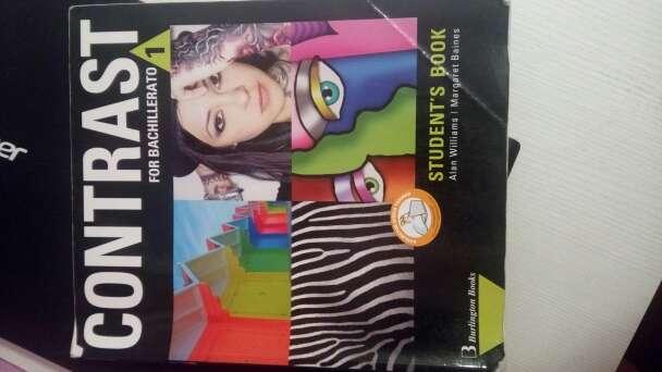 Imagen Libro de Inglés 1° Bachillerato