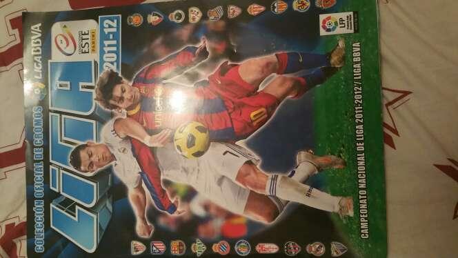Imagen album cromos futbol