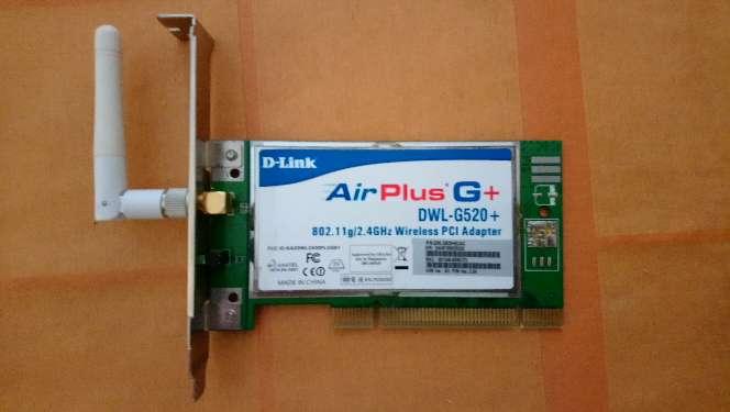 Imagen Tarjeta Wifi pci d-link airplus