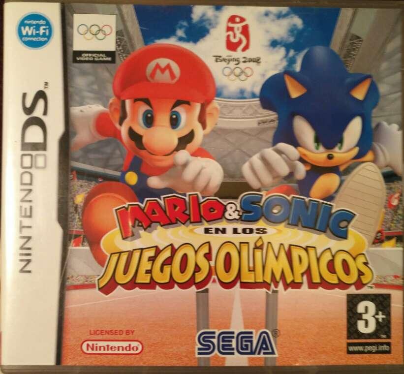Imagen Juego Nintendo DS - Mario & Sonic en los Juegos Olimpicos