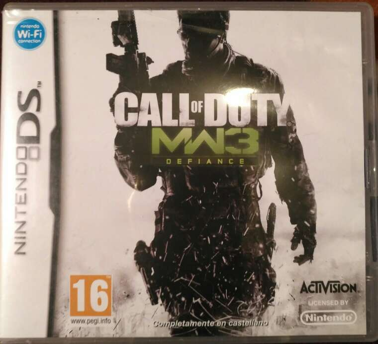 Imagen Juego Nintendo DS - Call of Duty MW3