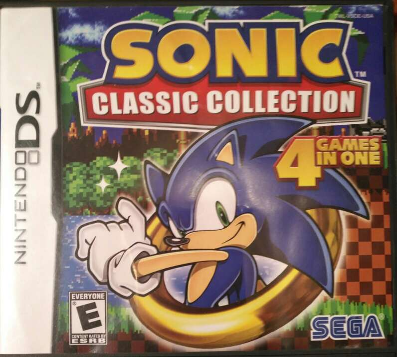 Imagen producto Juego Nintendo DS - Sonic Classic Collection - Ed. U.S.A. 1