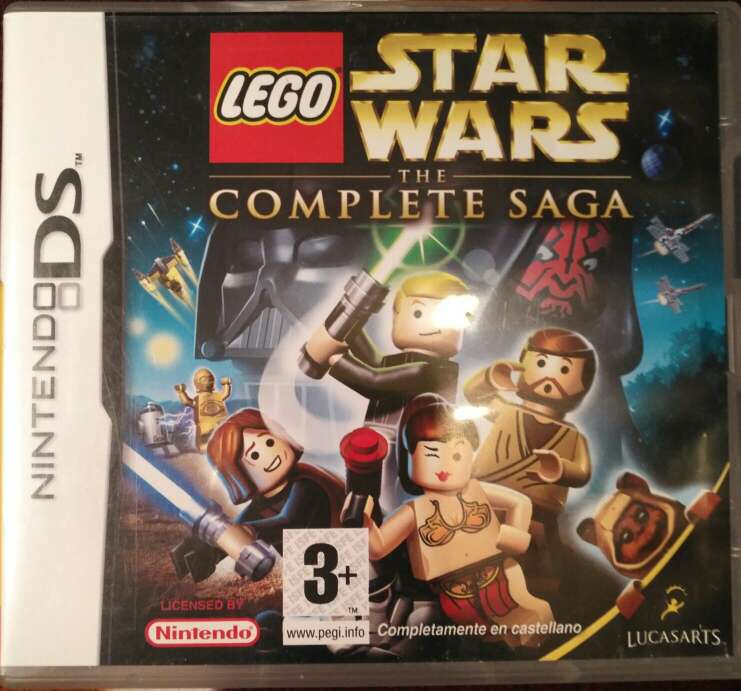 Imagen Juego Nintendo DS - Lego Star Wars The Complete Saga