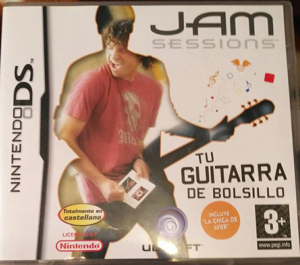 Imagen Juego Nintendo DS - Jam Session Tu Guitarra de Bolsillo