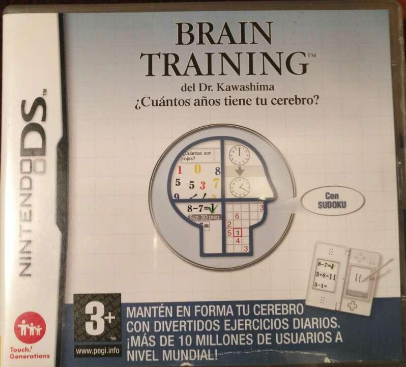 Imagen Juego Nintendo DS - Brain Training