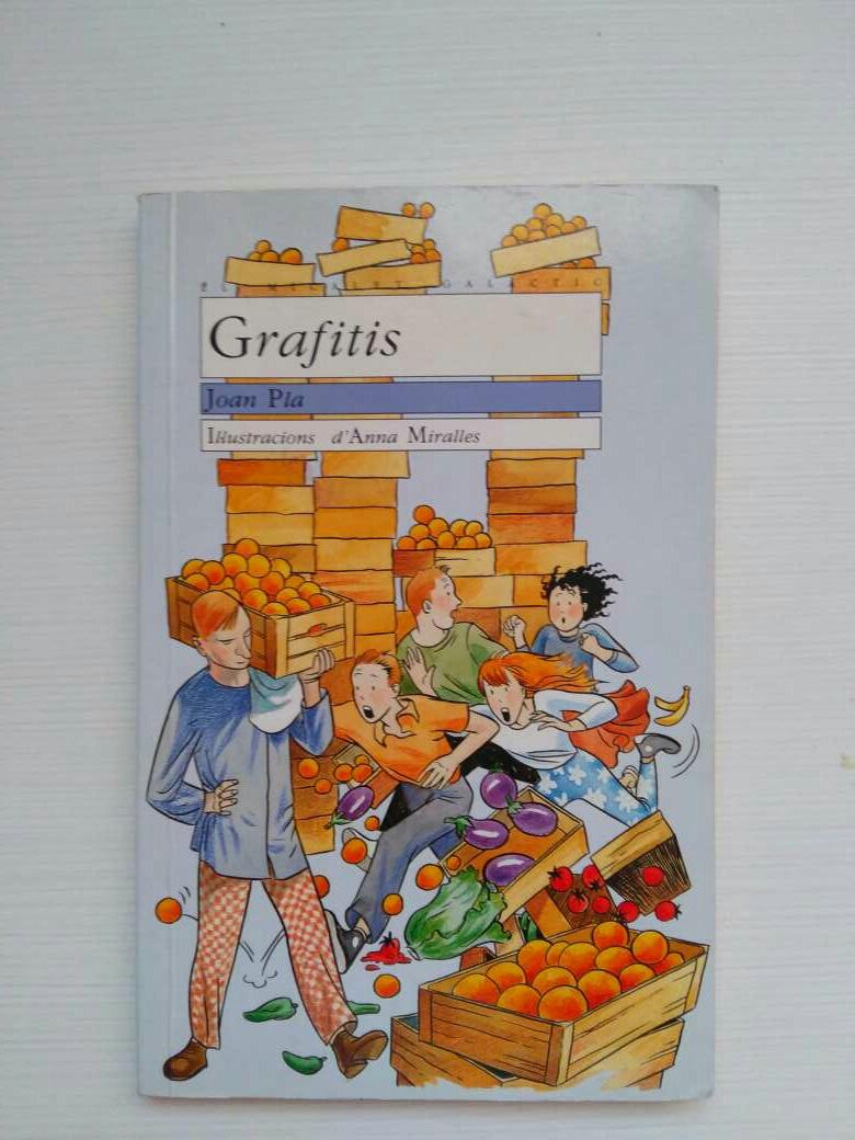 Imagen Libro de lectura: Grafitis