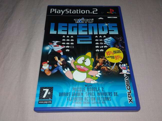 Imagen Taito legends 2 playstation
