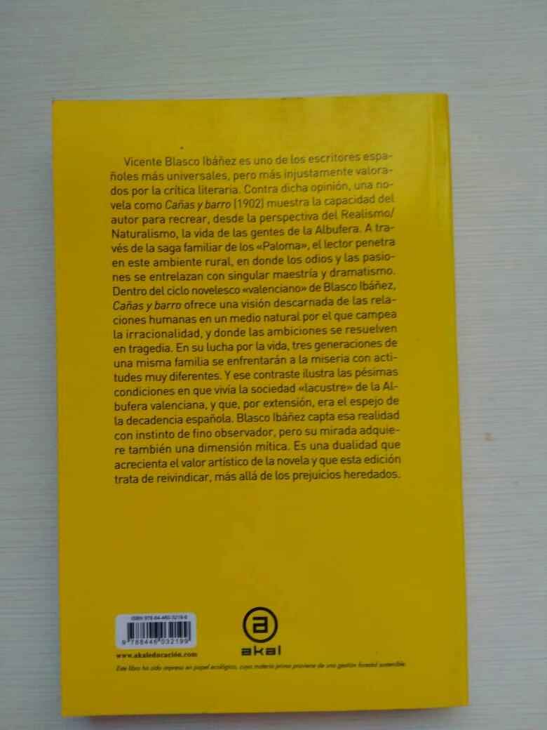 Imagen producto Cañas y barro 2