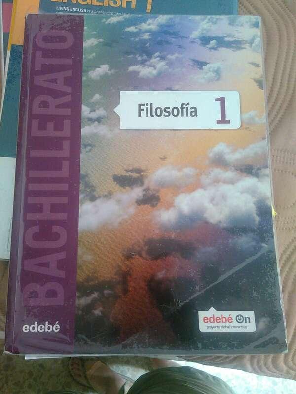 Imagen Libro de Filosofia (edebé) 1 Bachillerato