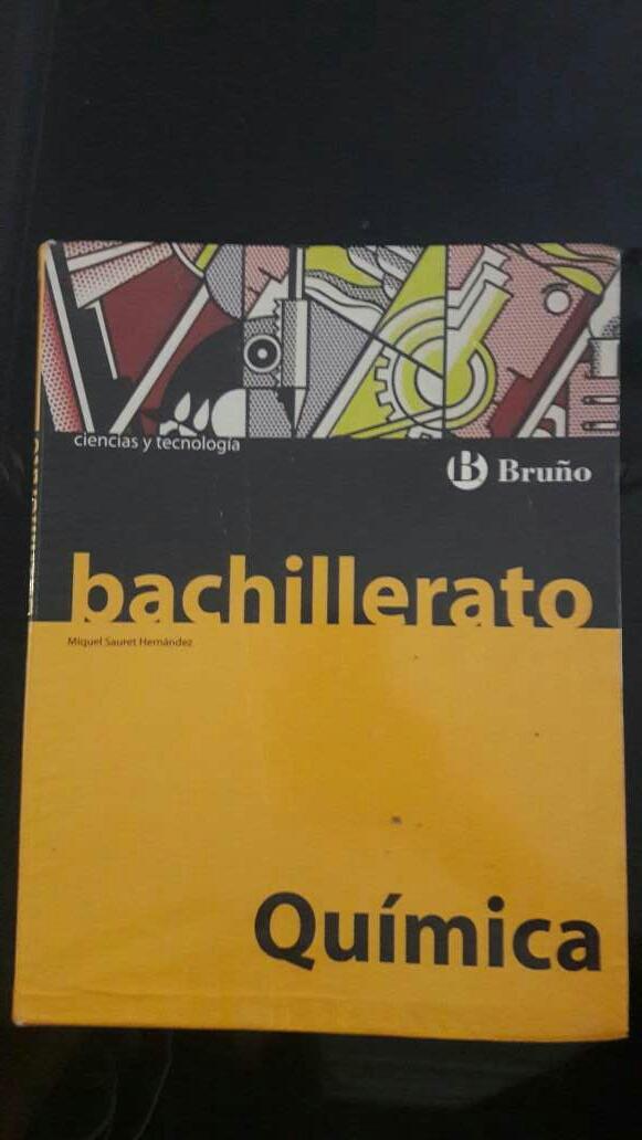 Imagen Libro química 2 bachillerato BRUÑO