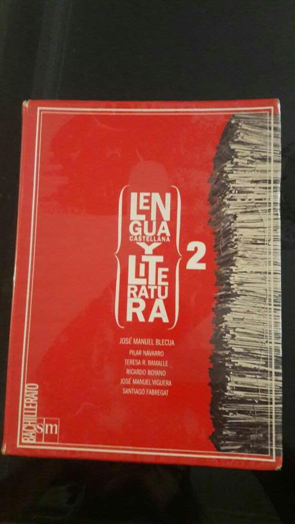 Imagen Libro lengua 2 bachillerato SM