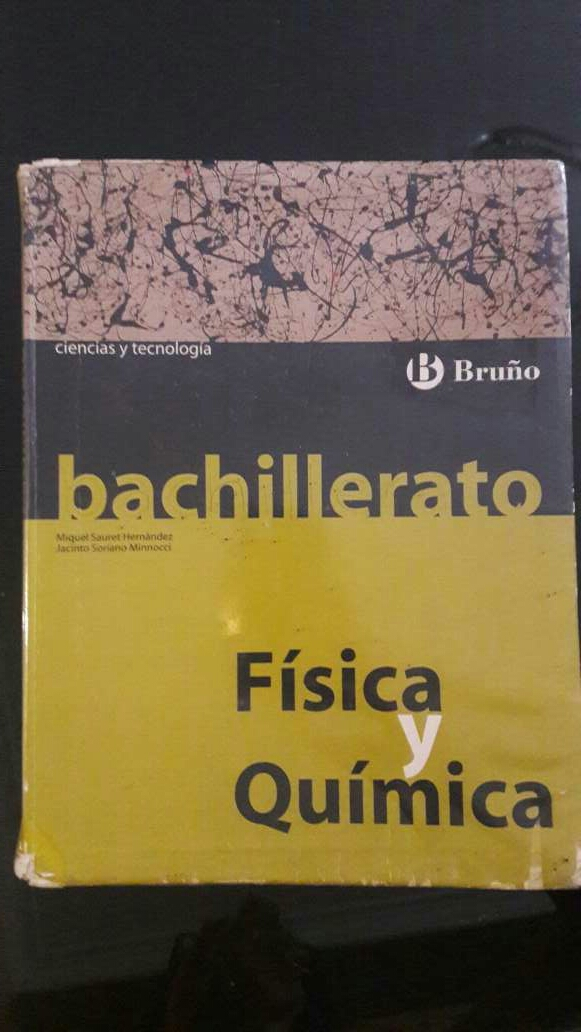 Imagen Libro física y química 1 bachillerato BRUÑO