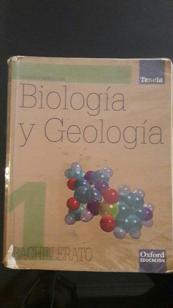 Imagen Libro biología 1 bachillerato OXFORD Tesela