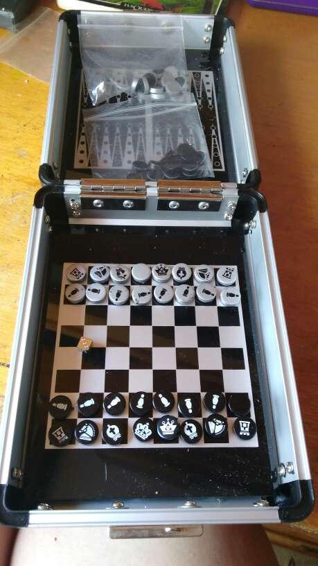 Imagen Ajedrez-backgammon-damas