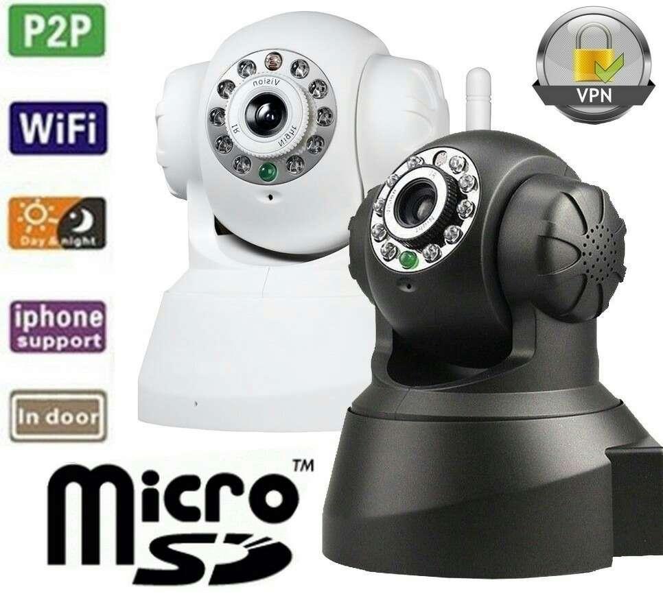 Imagen Camera de Vigilancia WiFi, Micrófono ,Altavoz