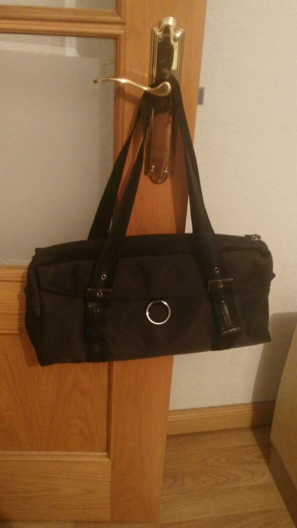 Imagen bolso de mujer negro