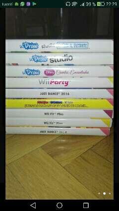 Imagen producto Wii+lote de juegos + udraw  2