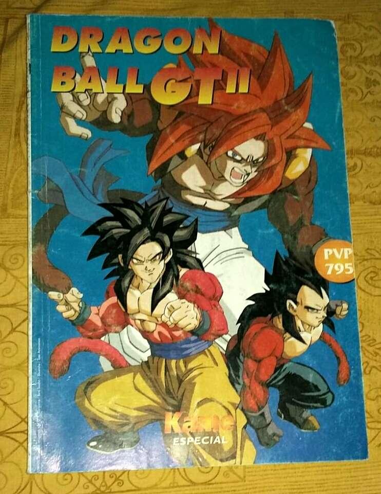 Imagen producto Lote Dragón BALL GT 2