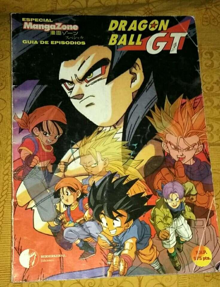 Imagen producto Lote Dragón BALL GT 4