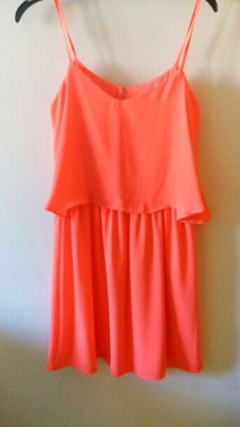 Imagen Vestido corto coral