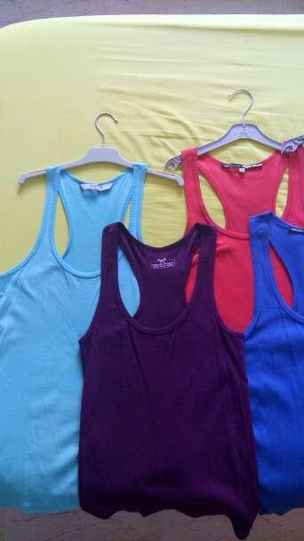 Imagen producto Lote camisetas tirantes talla M 2