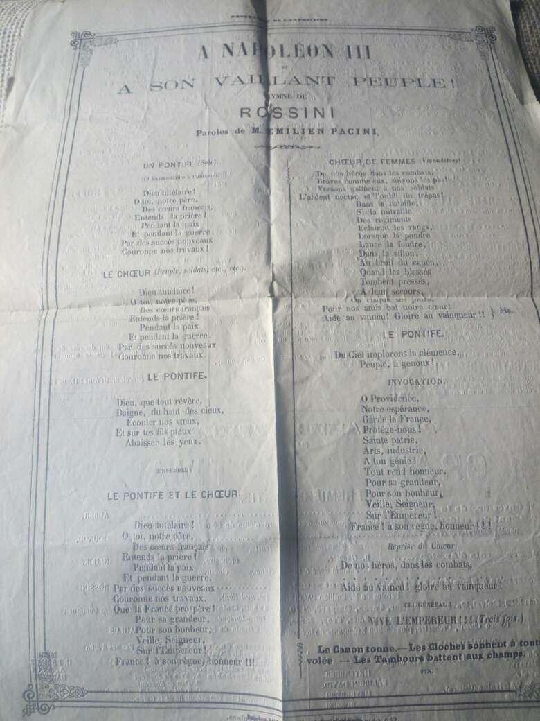 Imagen cantata de Rosinni