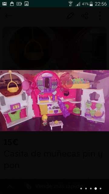 Imagen Casita de muñecas pin y pon