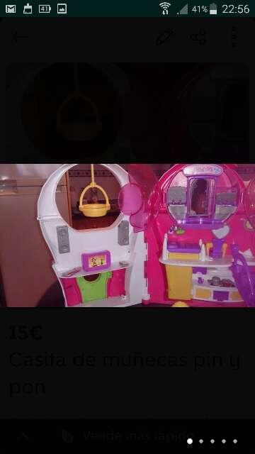 Imagen producto Casita de muñecas pin y pon  4