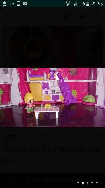 Imagen producto Casita de muñecas pin y pon  3