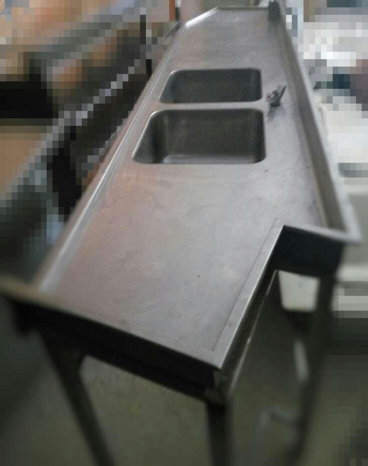 Imagen Mesa fregadero industrial