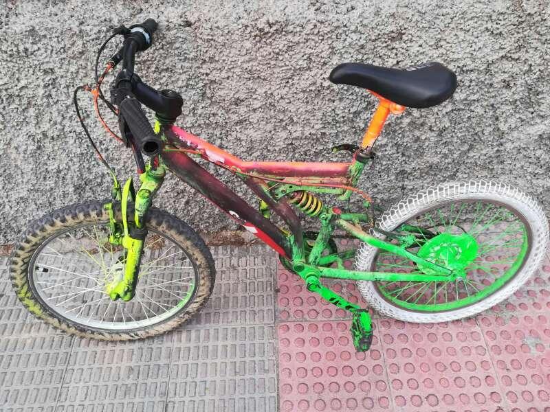 Imagen Bicicleta con amortiguador
