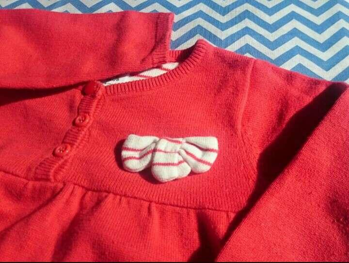 Imagen producto Vestido rojo manga larga  2