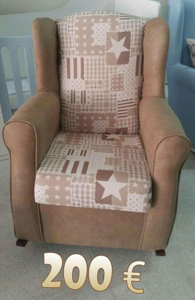 Imagen sillón lactancia a estrenar