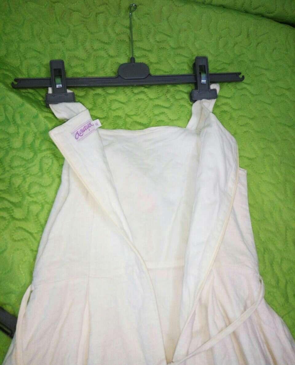 Imagen producto Vestido de niña lino 4