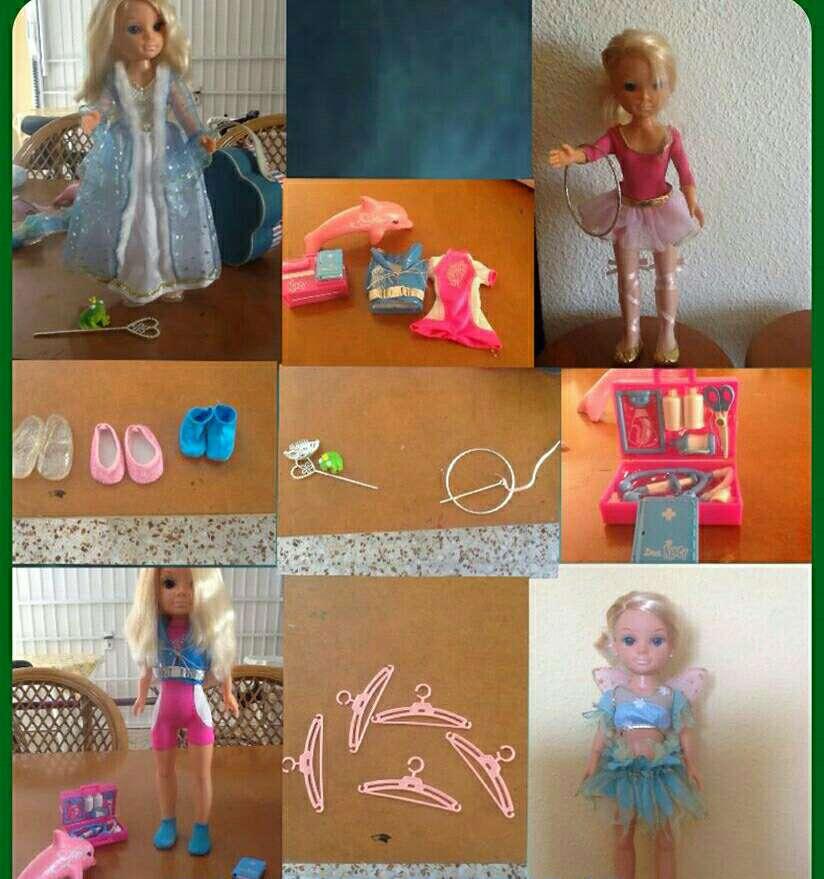 Imagen nancy con 4 vestidos