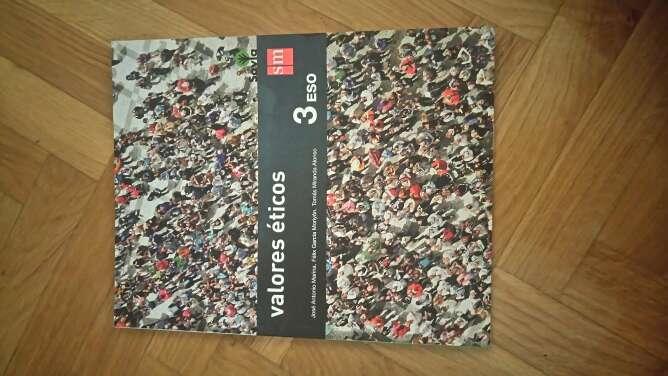 Imagen libro de texto: valores éticos 3° ESO