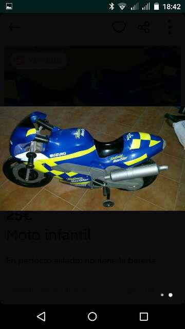 Imagen moto batería