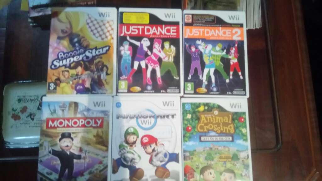 Imagen producto Consola wii con mandos y 6 juegos 2