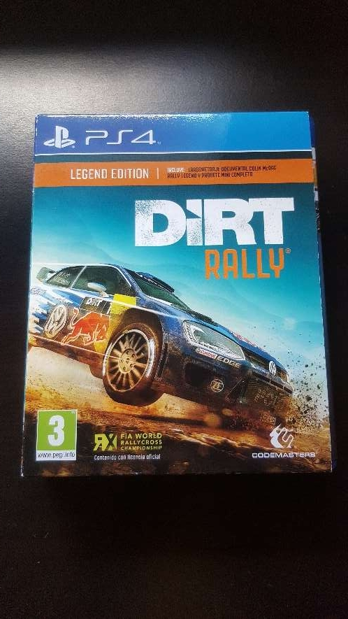 Imagen Dirt Rally Legend Edition para Ps4