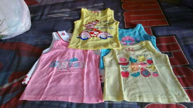 Imagen lote de camisetas de tirantes niña